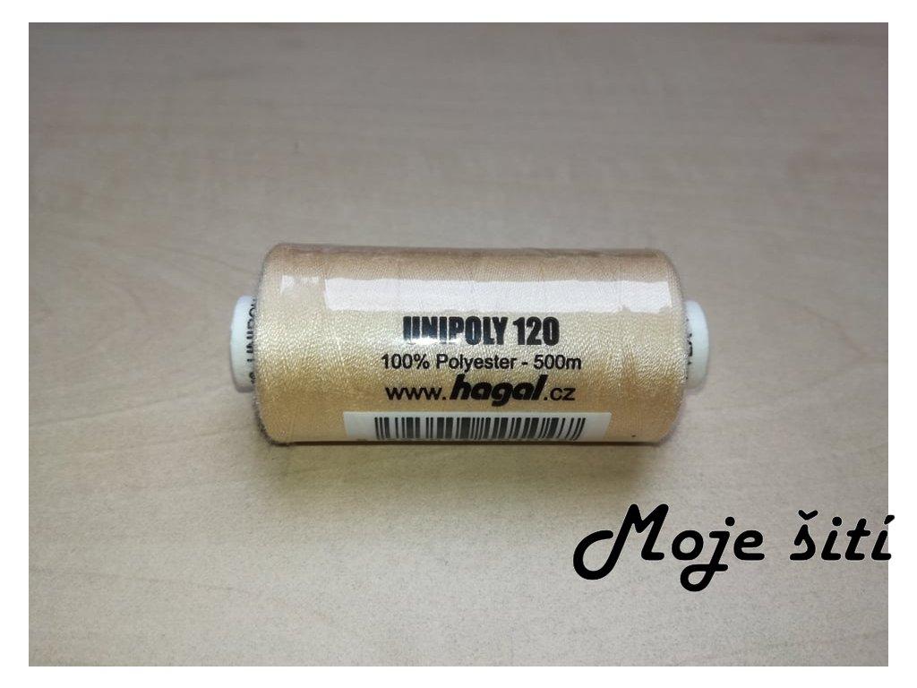 Unipoly 120 - 500m Světle béžová 702