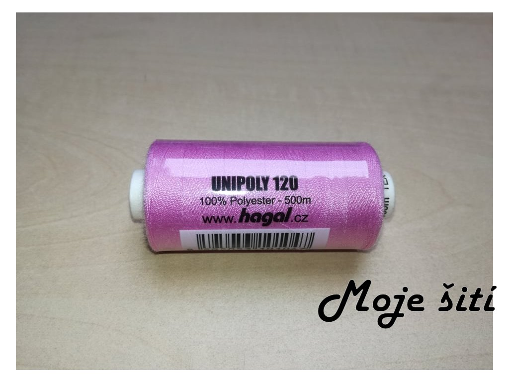 Unipoly 120 - 500m Světlá lila 431