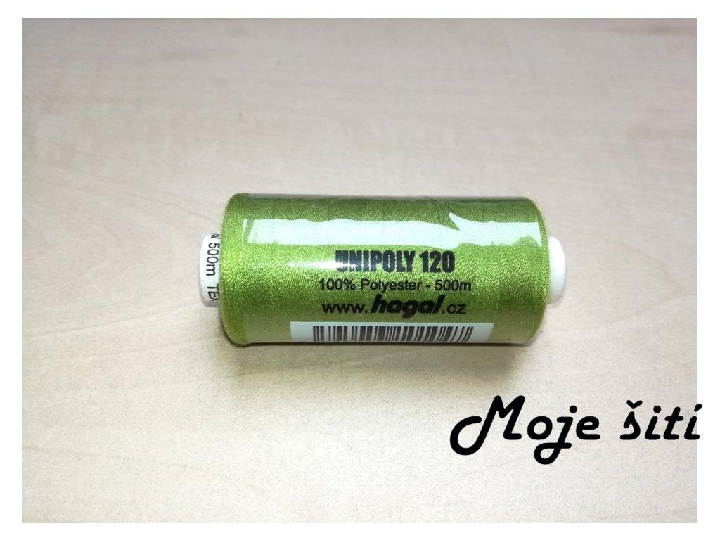 Unipoly 120 - 500m Zelenožlutá 632