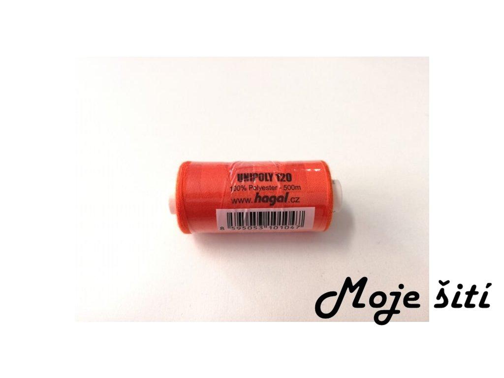 Unipoly 120 - 500m Tmavě oranžová 226