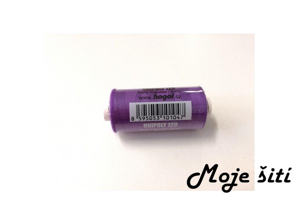Unipoly 120 - 500m Tmavě fialová 457
