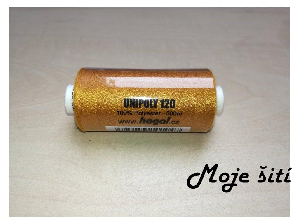 Unipoly 120 - 500m Tmavě okrová 764