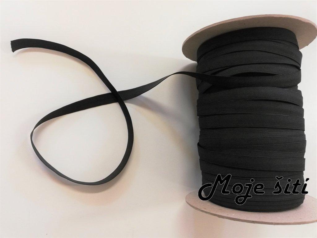 guma 1cm černá