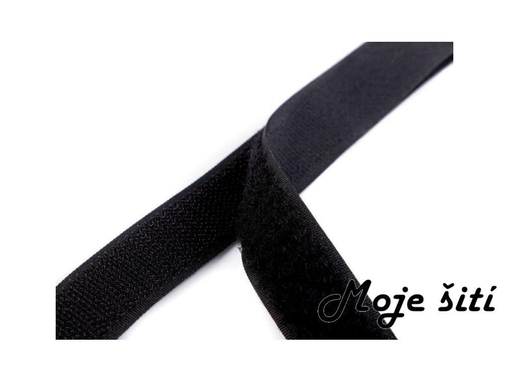 suchý zip 2cm černý1