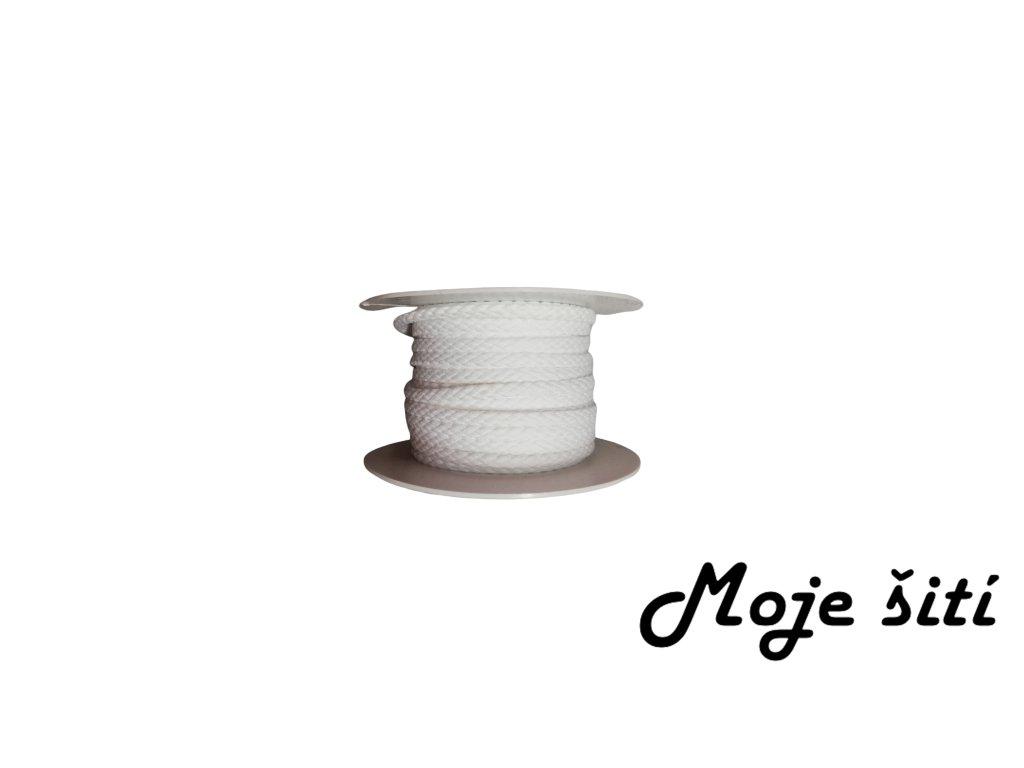 oděvní šnůra bílá