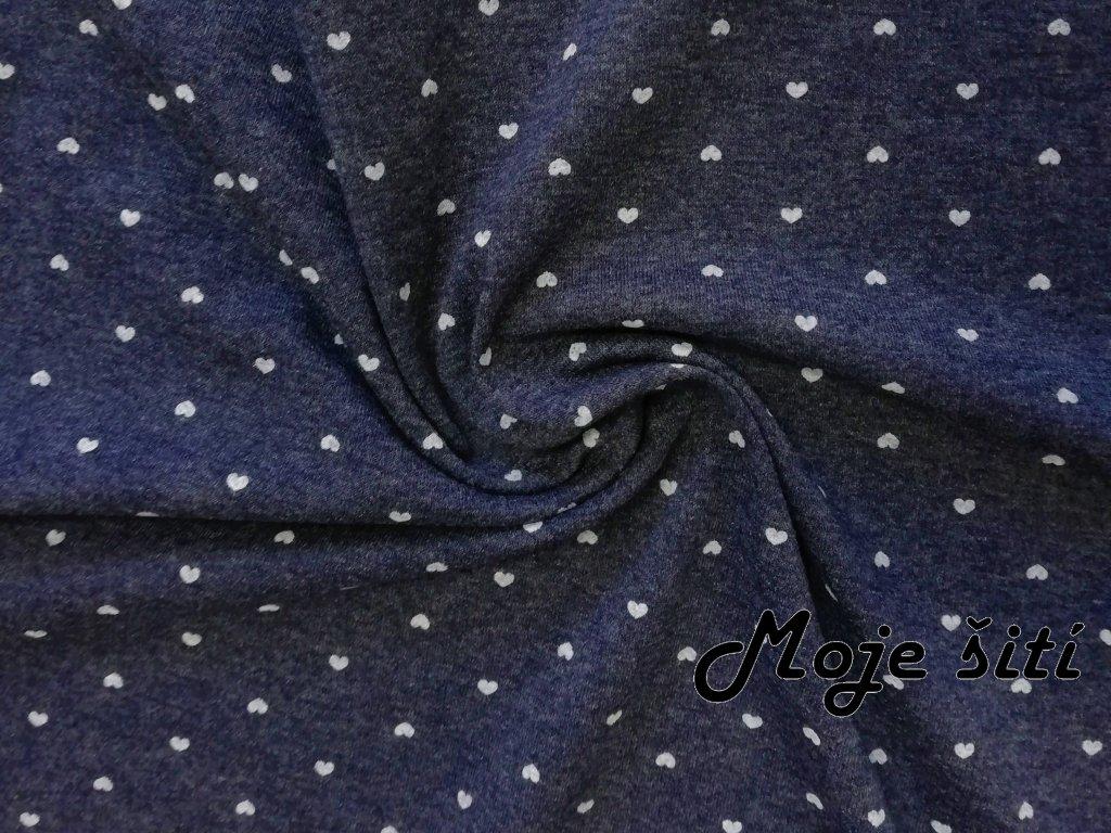 srdíčka na modrém melíru (4)