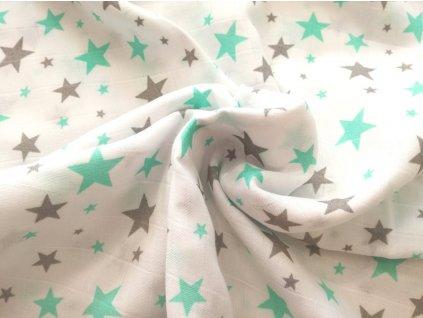 hvězdy šedé&mint