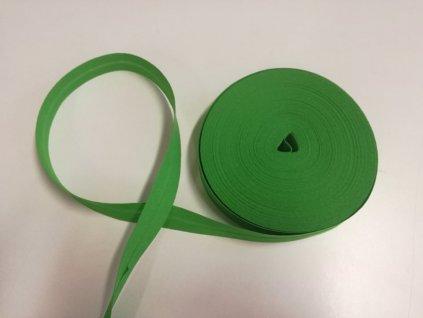 šikmý proužek zelená