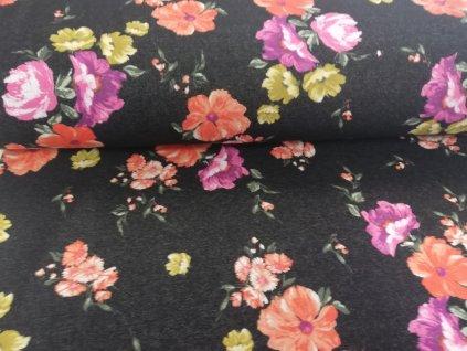 warmkeeper květy na černém jeansu (2)