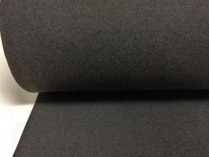 náplet 2x2 žebro melé antracitové (2)