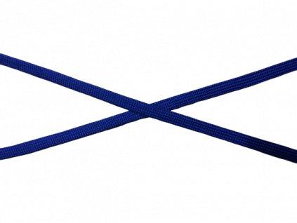 plochá šnůra královsky modrá