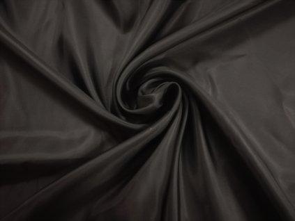 podšívka lesklá černá