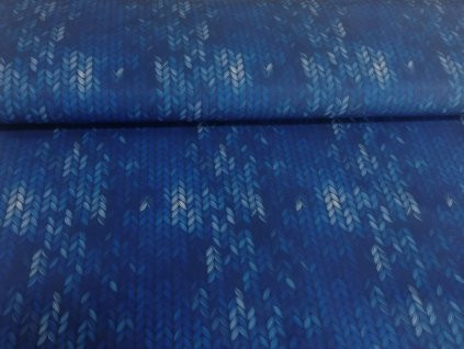zimní softshell pletený vzor (3)