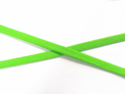 odevni snura plocha jasna zelena