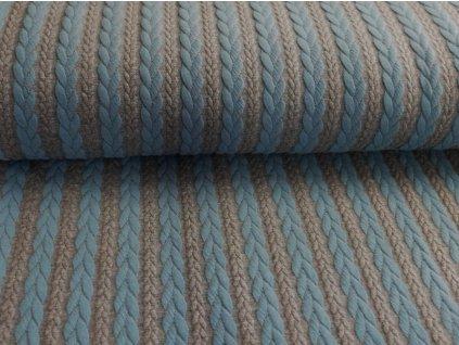 modré&šedý melánž