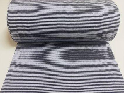 náplet modro bílé proužky