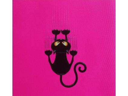 číča na neon růžové
