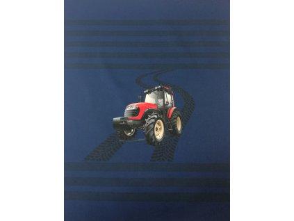 panel softshell letni cerveny traktor velky