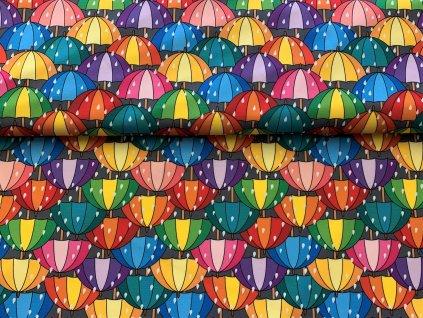 deštníky 15x15cm