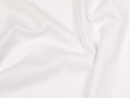 100% bavlněný úplet bílý