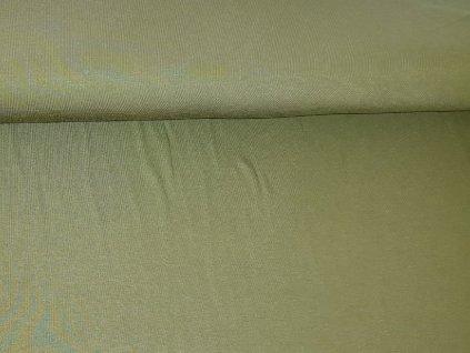 bambusovy uplet khaki tmavy