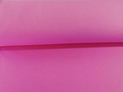 teplákovina baby růžová (2)