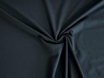 bavlneny uplet s elastanem modrosedy