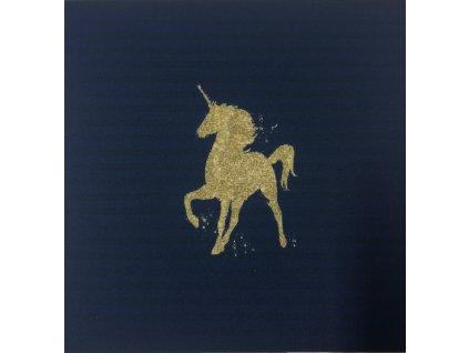 sotfshell panel zlaty jednorozec maly
