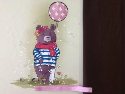 Balíček Medvěd&králíček 47x60cm