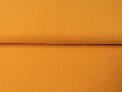 Bavlněný náplet s elastanem Okrový K