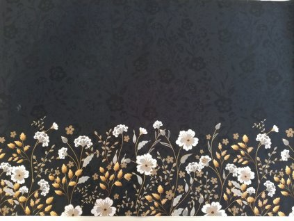 bordura zlaté květy (2)