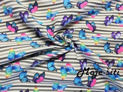 micropeach motylci prouzky