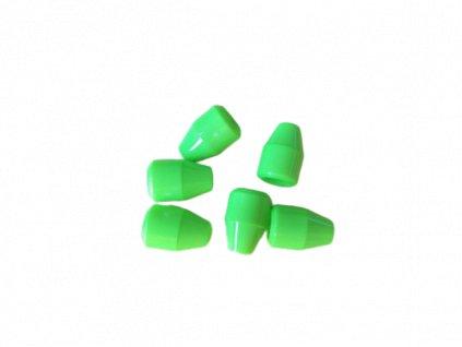 Koncovka neon zelena