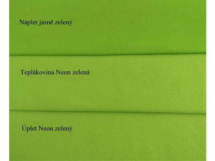 teplákovina Neon zelená (1)