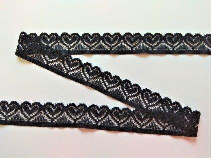 elasticka krajka 18 mm srdicka