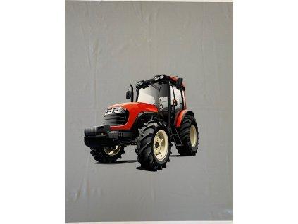 cerveny traktor 50x53