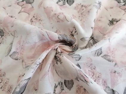 Tetra Kvety sipkove ruze na bile