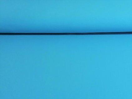 Bavlněný úplet s elastanem Světle modrý K 200g/m2
