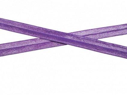 lemovací pruženka ledová fialová 2