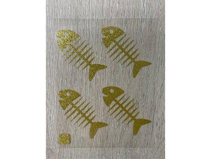 rybi kost zlata