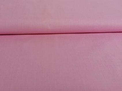 Bavlněné plátno Světle růžové