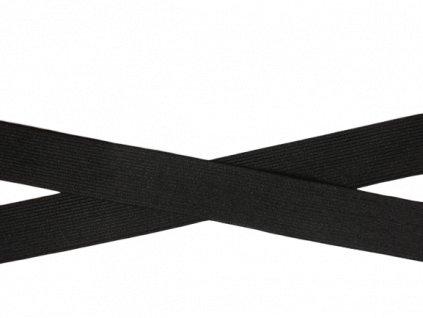 pruženka 3cm černá