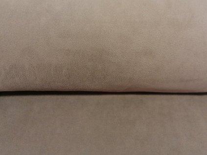 MicroFleece Zemitě hnědý