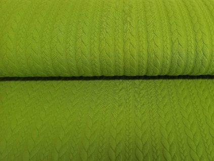 Copánky jarní zeleň