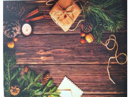 Vánoční stůl 50x40cm