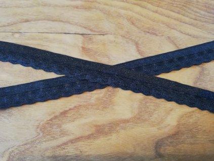 prádlová pruženka 14mm černá