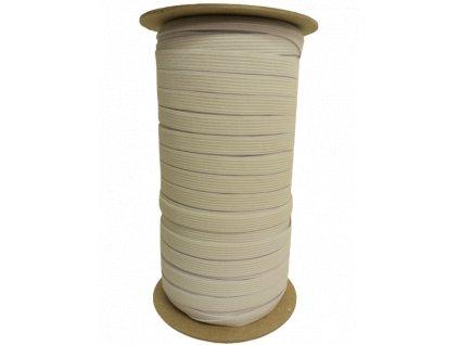 Pruženka 1 cm - bílá galonová