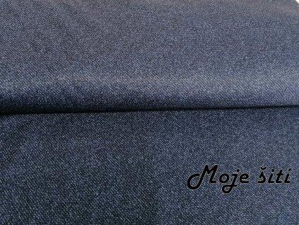 PRUŽNÝ ZIMNÍ softshell - Jeans tmavý