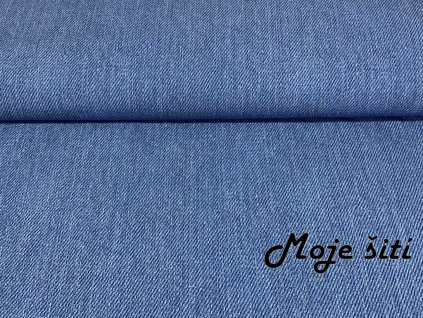 PRUŽNÝ ZIMNÍ softshell - Jeans světlý