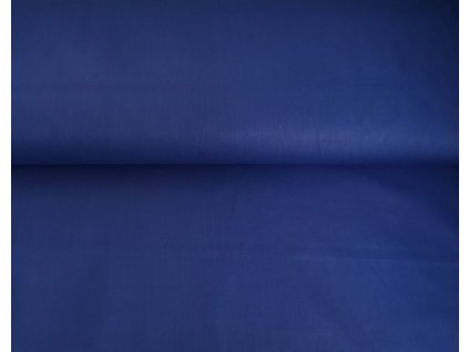 Bavlněné plátno Královsky modré